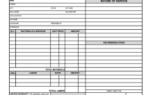 Free Hvac Invoice Template Pdf Word Excel