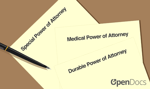 Types of power of attorneys